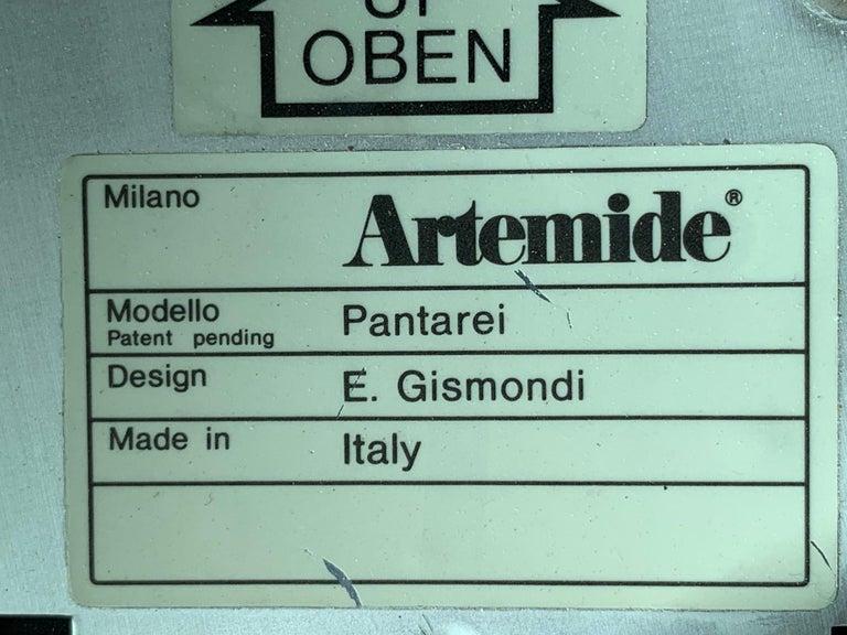Set of Seven Pantarei Wall Lights by Ernesto Gismondi Artemide For Sale 2
