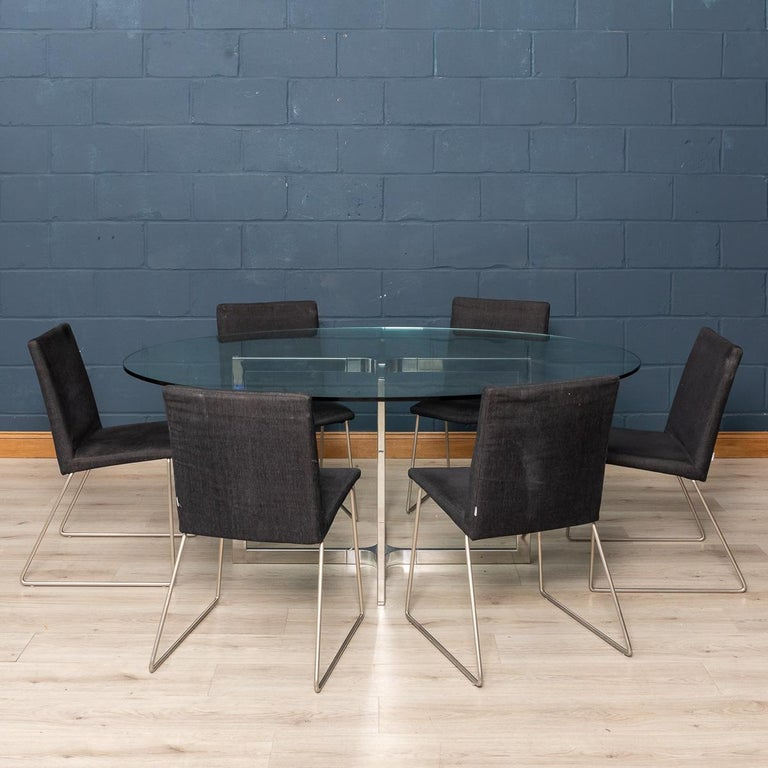 Danish Set of Six BoConcept Dining Chairs, Denmark, circa 2000 For Sale