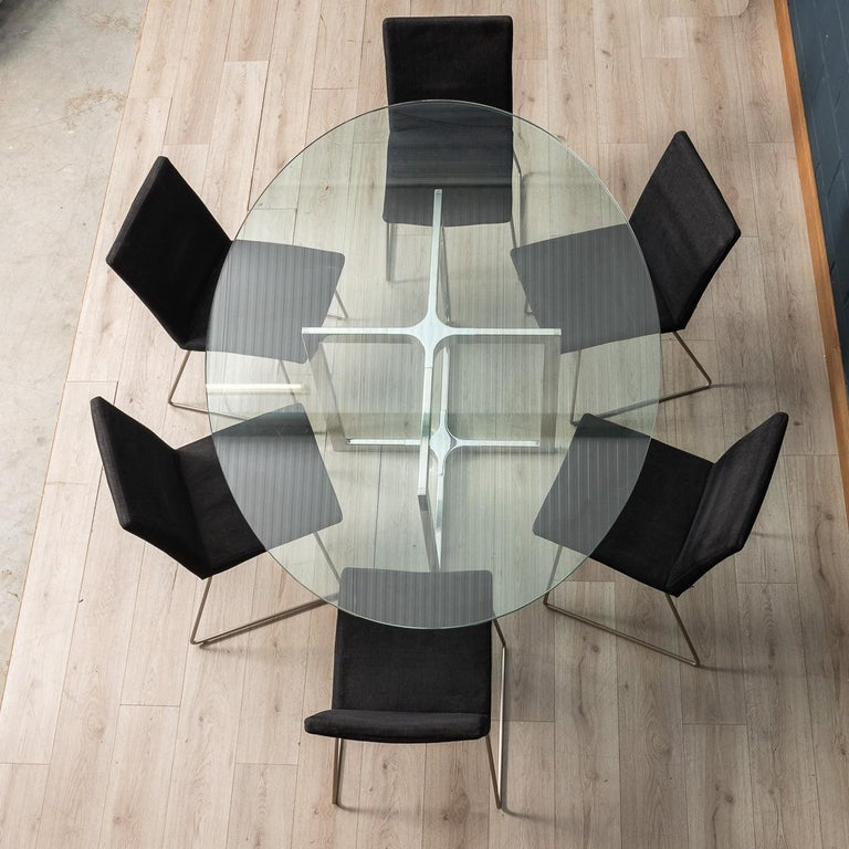 Set of Six BoConcept Dining Chairs, Denmark, circa 2000 In Good Condition For Sale In Royal Tunbridge Wells, Kent