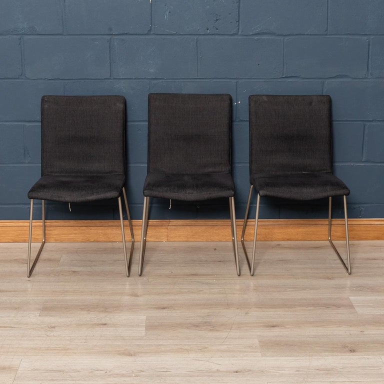 Contemporary Set of Six BoConcept Dining Chairs, Denmark, circa 2000 For Sale