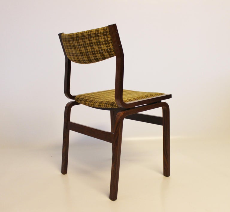Set of Six Dining Room Chairs in Rosewood, Danish Design, 1960s In Good Condition For Sale In Lejre, DK