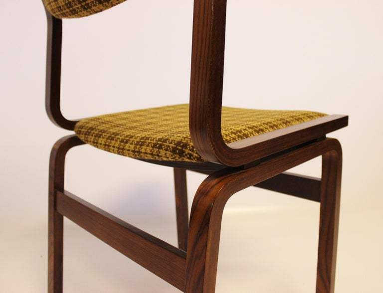 Set of Six Dining Room Chairs in Rosewood, Danish Design, 1960s For Sale 2