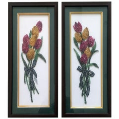 Set of Two, Tulip Panels