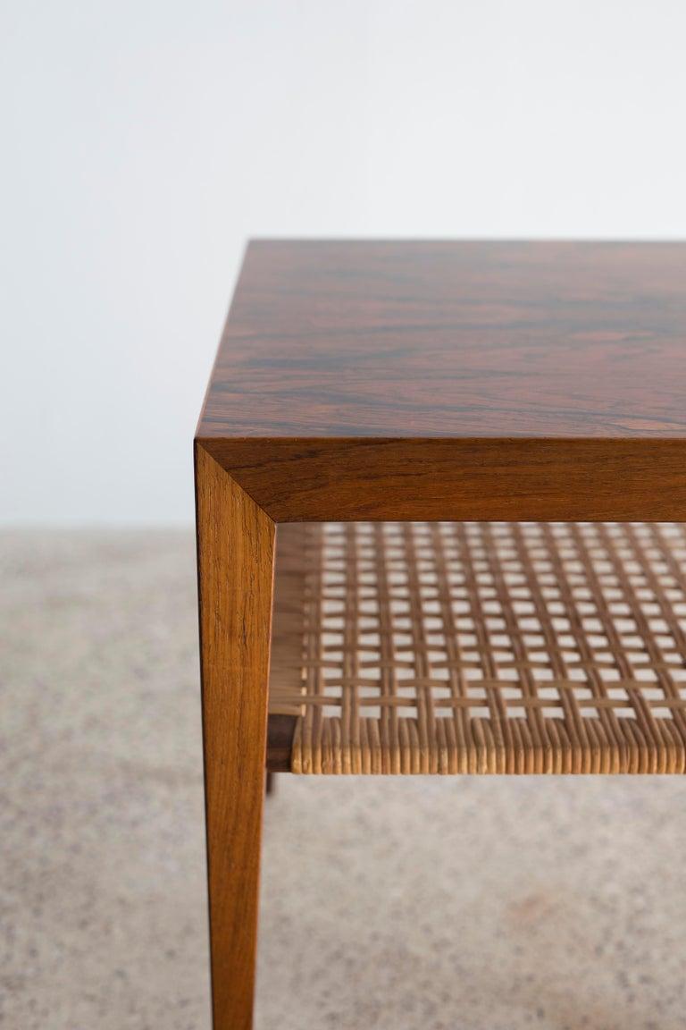 Scandinavian Modern Severin Hansen Rosewood Table For Sale