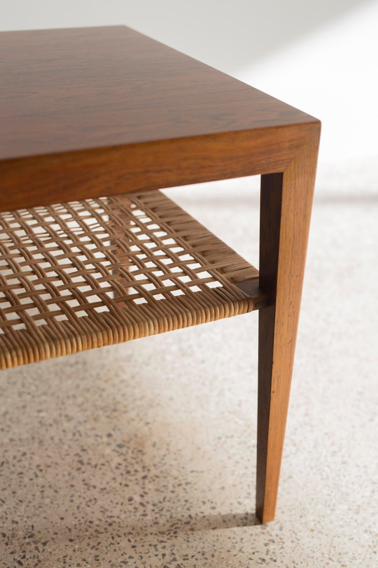 20th Century Severin Hansen Rosewood Table For Sale