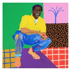 'A Shoe Sensation' Portrait Painting by Alan Fears Pop Art