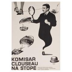 A Shot in the Dark 1970 Czech A3 Film Movie Poster, Sebek