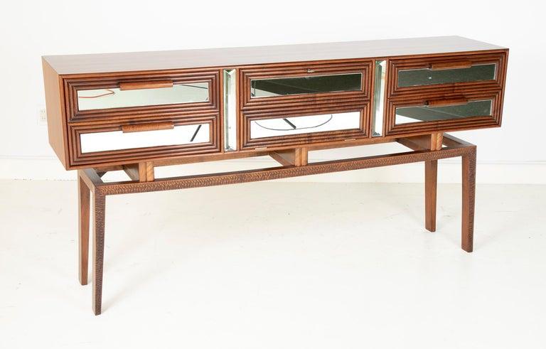 Italian Sideboard Bar Designed by G. Cavatorta, circa 1930s For Sale
