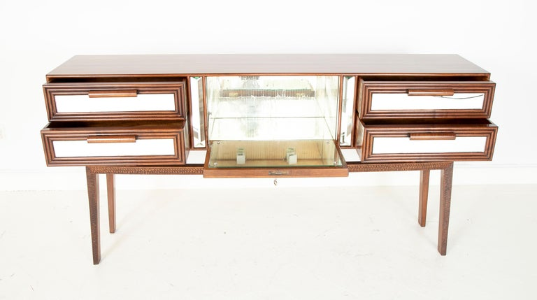 Sideboard Bar Designed by G. Cavatorta, circa 1930s For Sale 1