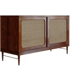 Sideboard for Sanders by Lind + Almond in Chestnut and Rattan