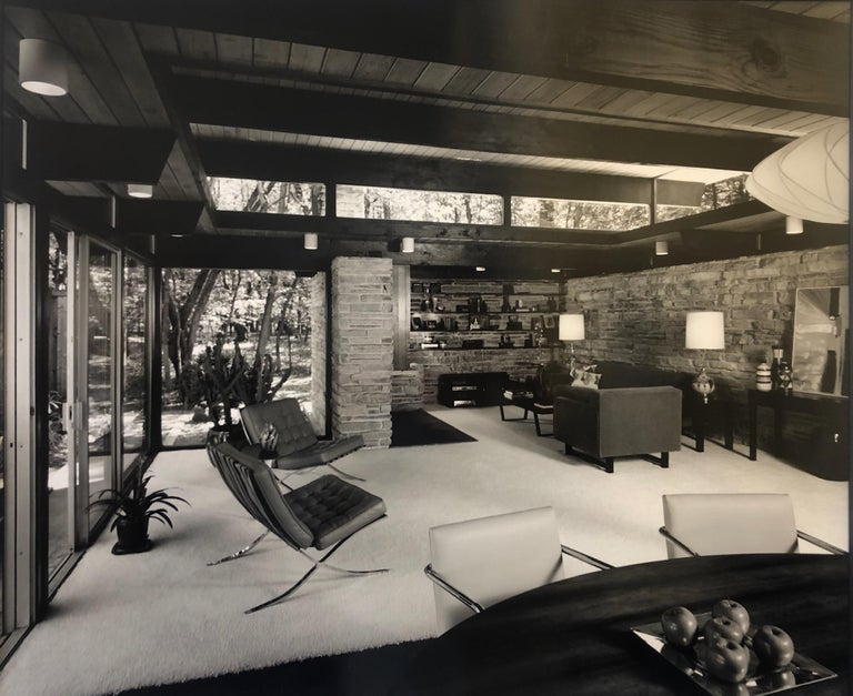 Modern Signed Architectural Photograph by Julius Shulman For Sale