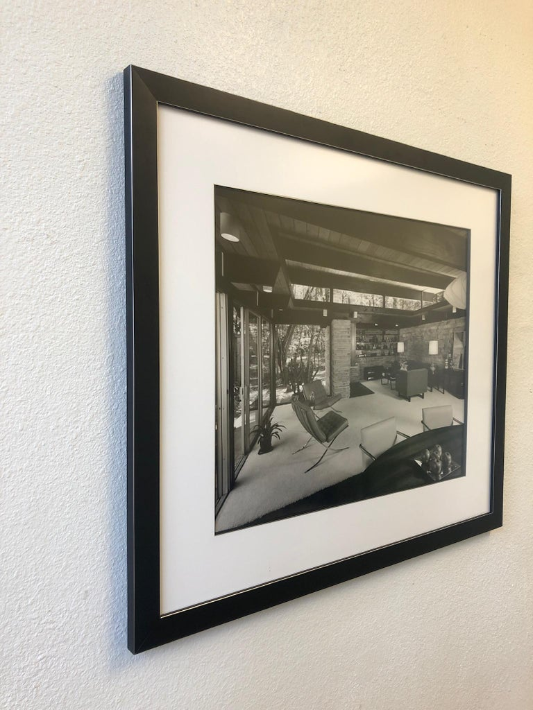 Signed Architectural Photograph by Julius Shulman In Excellent Condition For Sale In Palm Springs, CA