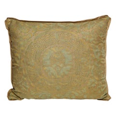 Single Fortuny Fabric Cushions in the Orsini Pattern
