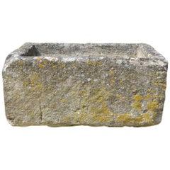 Small 19th Century Cotswold Stone Trough