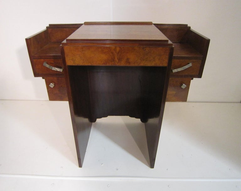 Small French Art Deco Writing Desk/ vanity For Sale 12