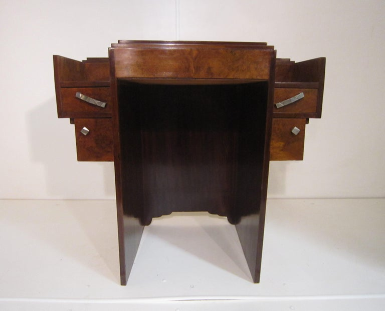Small French Art Deco Writing Desk/ vanity For Sale 13