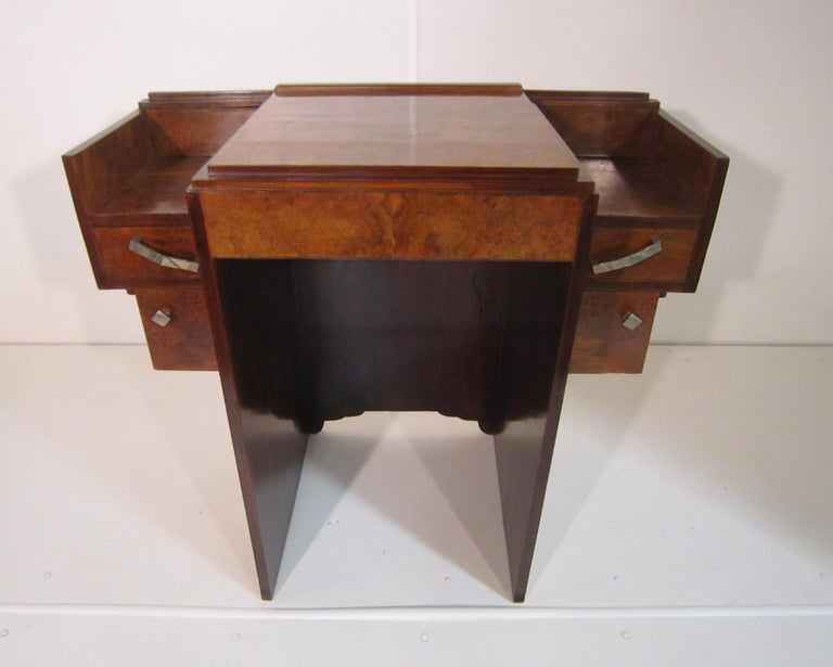 Small French Art Deco Writing Desk/ vanity For Sale 2