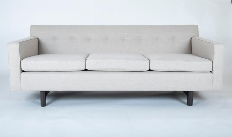 Mid-Century Modern Sofa Designed by Edward Wormley and Produced by Dunbar For Sale