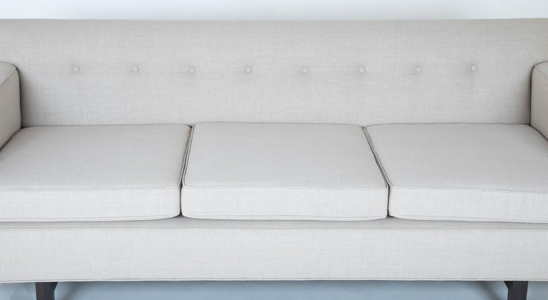 American Sofa Designed by Edward Wormley and Produced by Dunbar For Sale