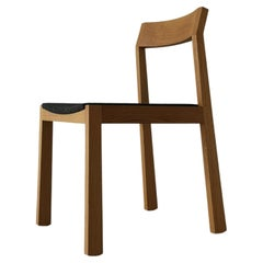a+ Solid Hardwood Upholstered Dining Chair by Izm Design