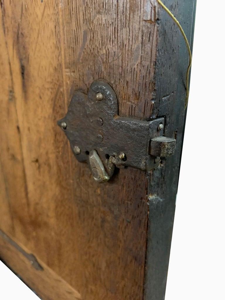 Brass A Spanish 19th Century Ebonized Cabinet For Sale