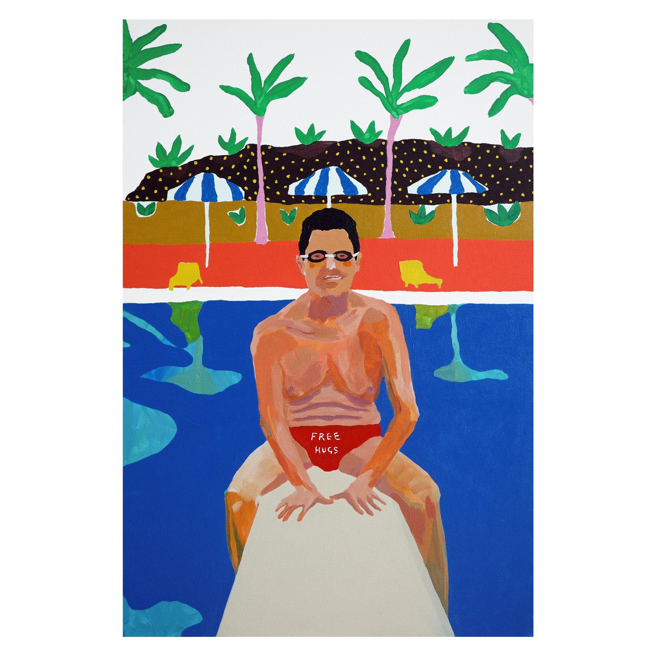 'A Special Offer' Portrait Painting by Alan Fears Pop Art