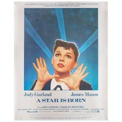 A Star Is Born R1983 U.S. Film Poster