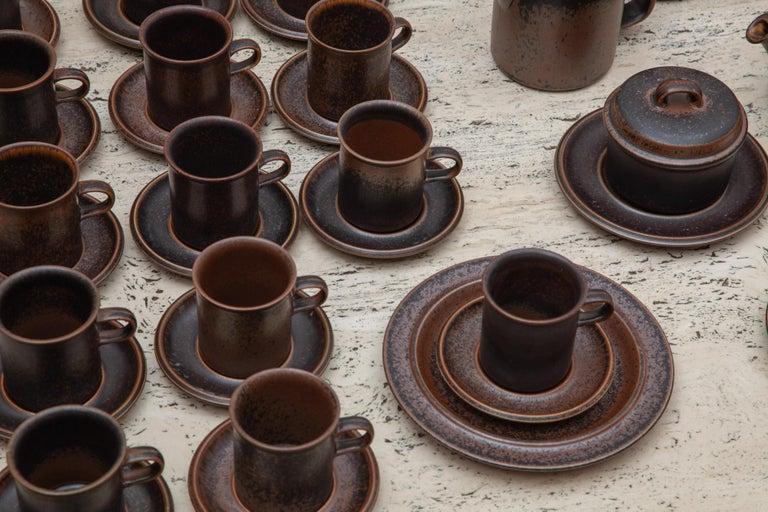 Mid-20th Century Stoneware Dinnerset