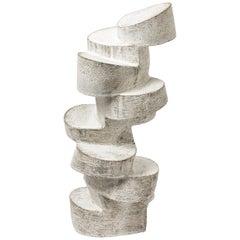 "Stoneware Sculpture ""Bloc en motion"" by Maarten Stuer, circa 2020"