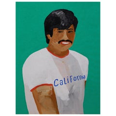 'A Sunshine State' Portrait Painting by Alan Fears, California