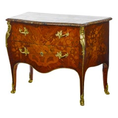 Superb Marquetry Luis XV Commode, 18th Century
