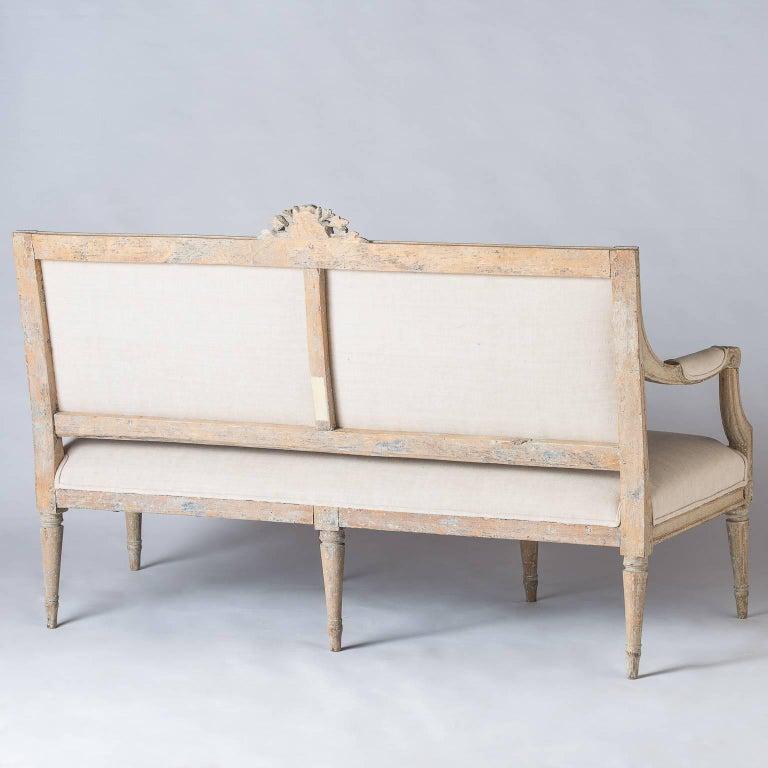 Swedish Gustavian Period Settee, circa 1780 For Sale 6