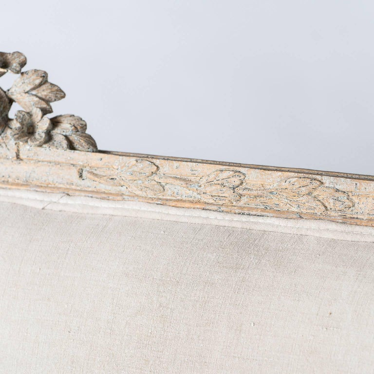 Swedish Gustavian Period Settee, circa 1780 In Excellent Condition For Sale In New Preston, CT