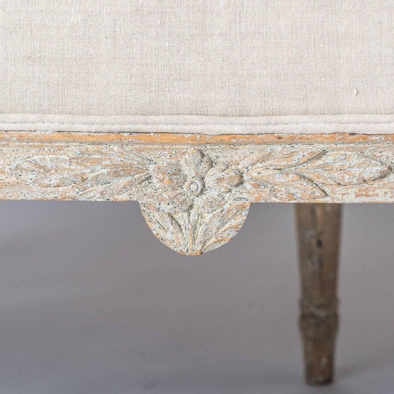 Swedish Gustavian Period Settee, circa 1780 For Sale 4