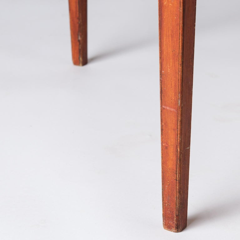 Swedish, Late Gustavian Period, Grain Painted Drop-Leaf Table, circa 1820 For Sale 3