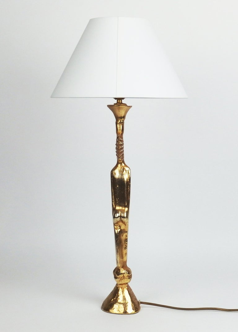 French Table Lamp by Pierre Casenove Edited by Fondica For Sale