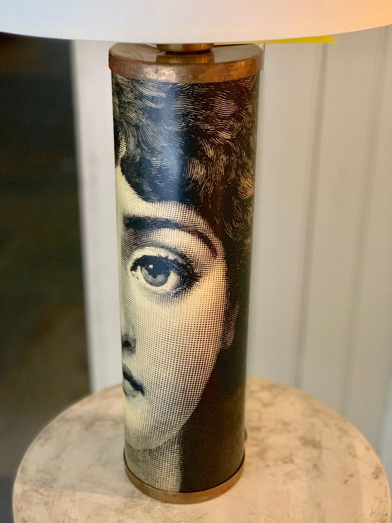 20th Century Table Lamp Featuring Lina Cavalieri by Fornasetti For Sale