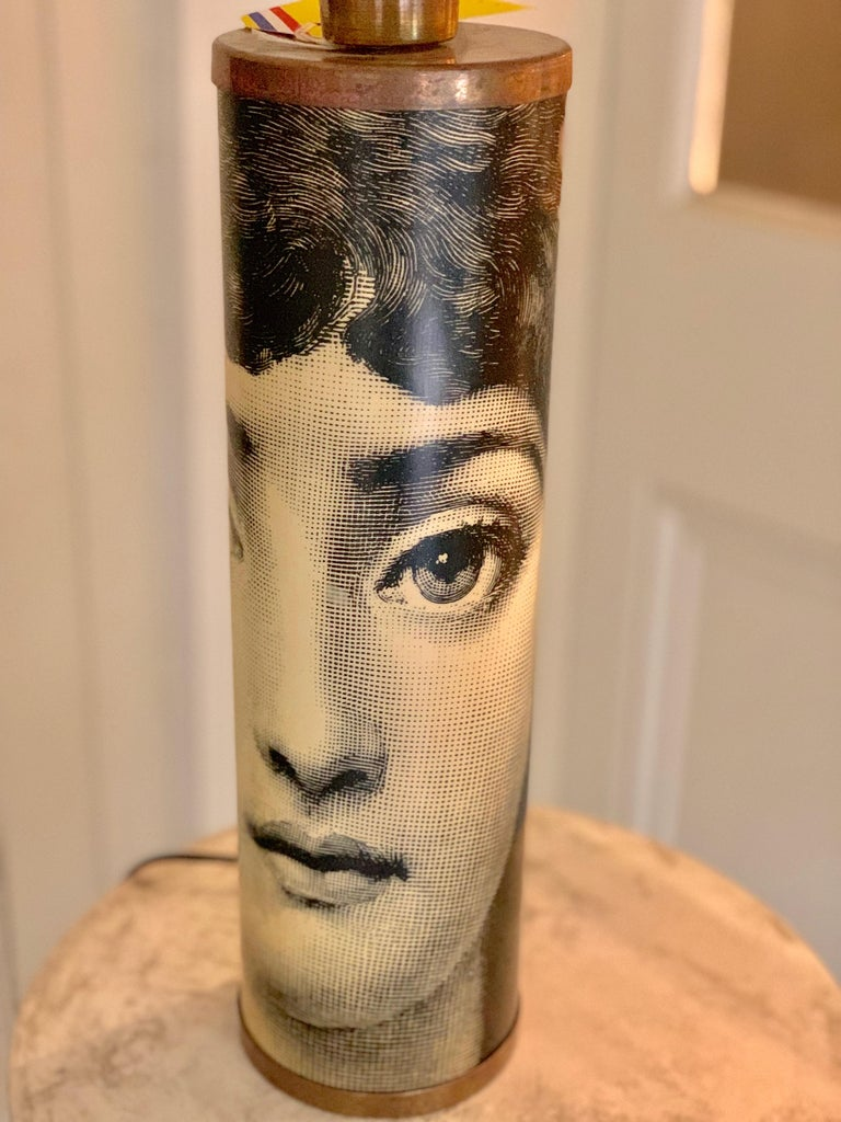 Table Lamp Featuring Lina Cavalieri by Fornasetti For Sale 1