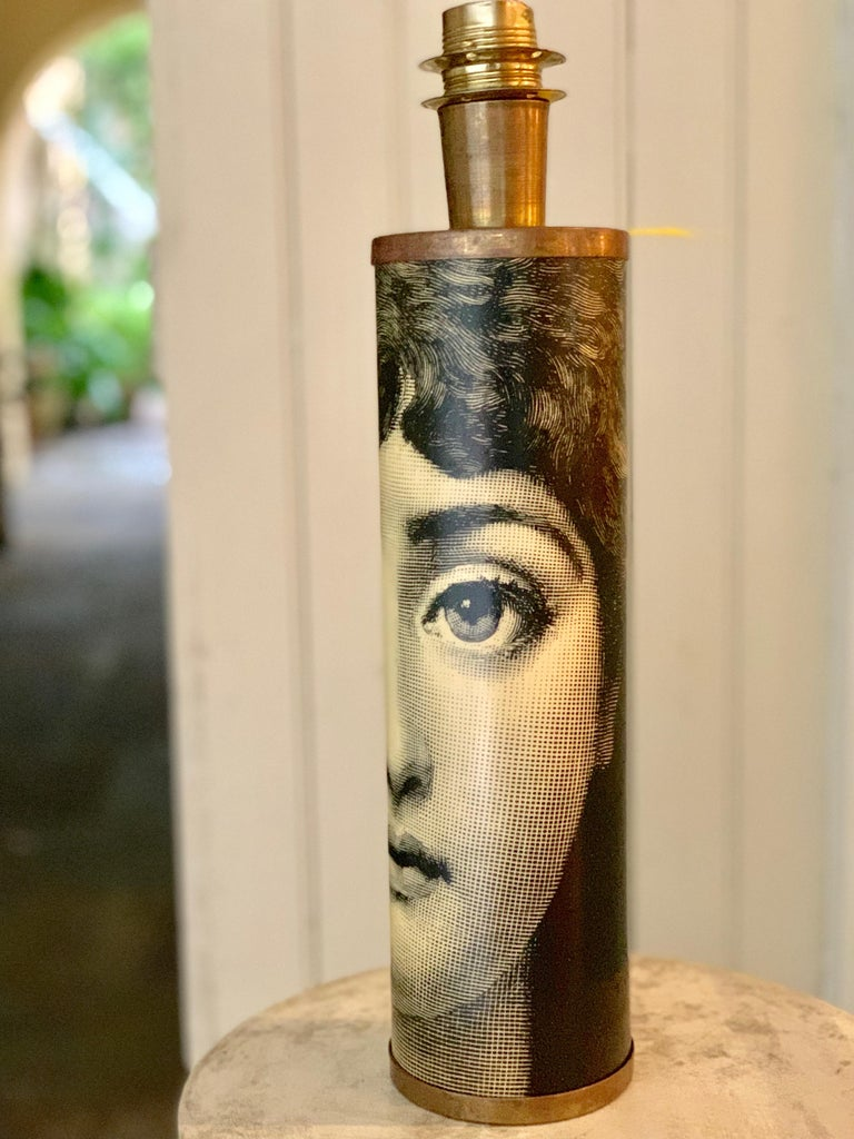 Table Lamp Featuring Lina Cavalieri by Fornasetti For Sale 2