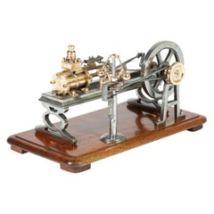 Tabletop Model of a Single Cylinder Steam Engine