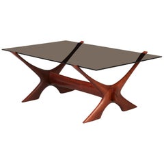 "Teak and Glass ""Condor"" Coffee Table by Fredrik Schriever Abeln, 1960s"
