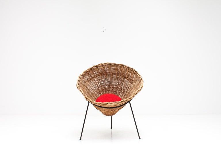 English Terence Conran C8 Cone Chair, Conran Furniture, England, 1954 For Sale