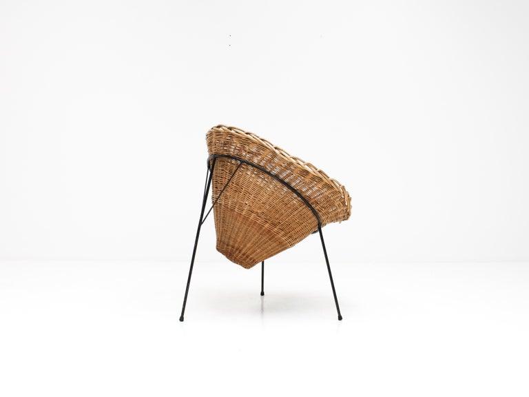 Terence Conran C8 Cone Chair, Conran Furniture, England, 1954 For Sale 1