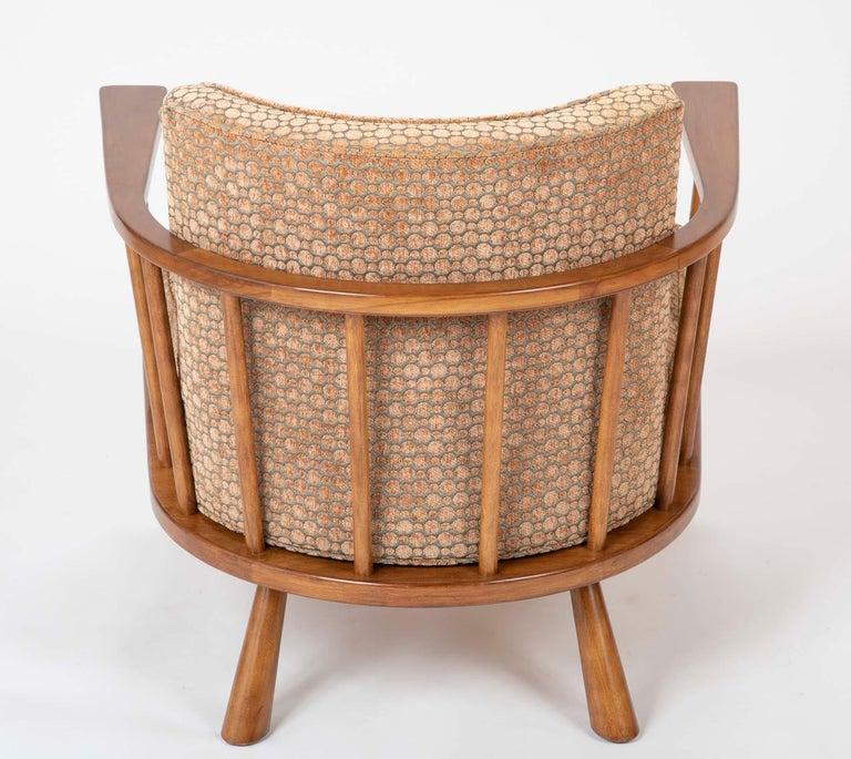 A T.H. Robsjohn Gibbings Barrel Back Armchair in Maple For Sale 8