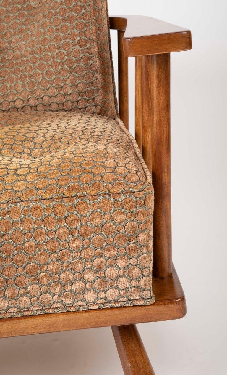 A T.H. Robsjohn Gibbings Barrel Back Armchair in Maple For Sale 2