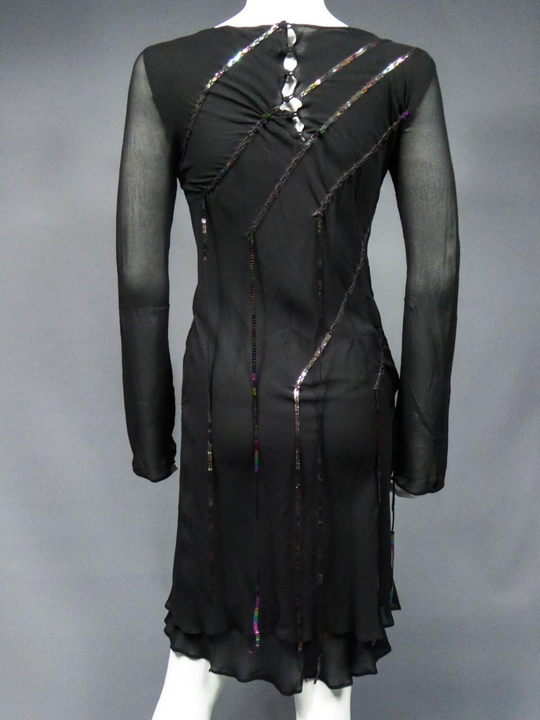 A Thierry Mugler Couture Little Black Dress Circa 2000 For Sale 7