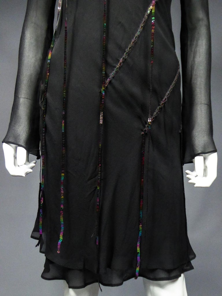 A Thierry Mugler Couture Little Black Dress Circa 2000 For Sale 3