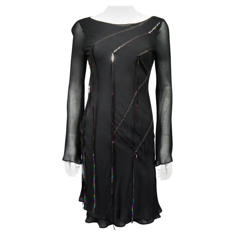 A Thierry Mugler Couture Little Black Dress Circa 2000 For Sale