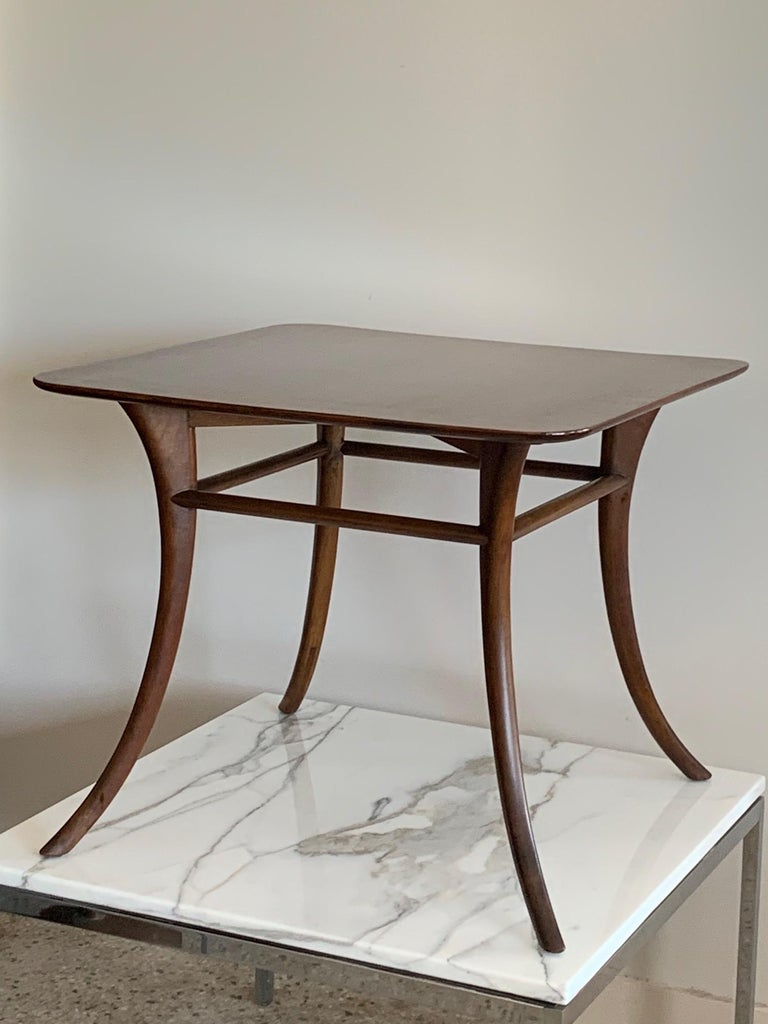 American T.H. Robsjohn-Gibbings for Widdicomb Occasional Klismos Table For Sale