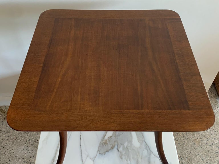 Mid-20th Century T.H. Robsjohn-Gibbings for Widdicomb Occasional Klismos Table For Sale
